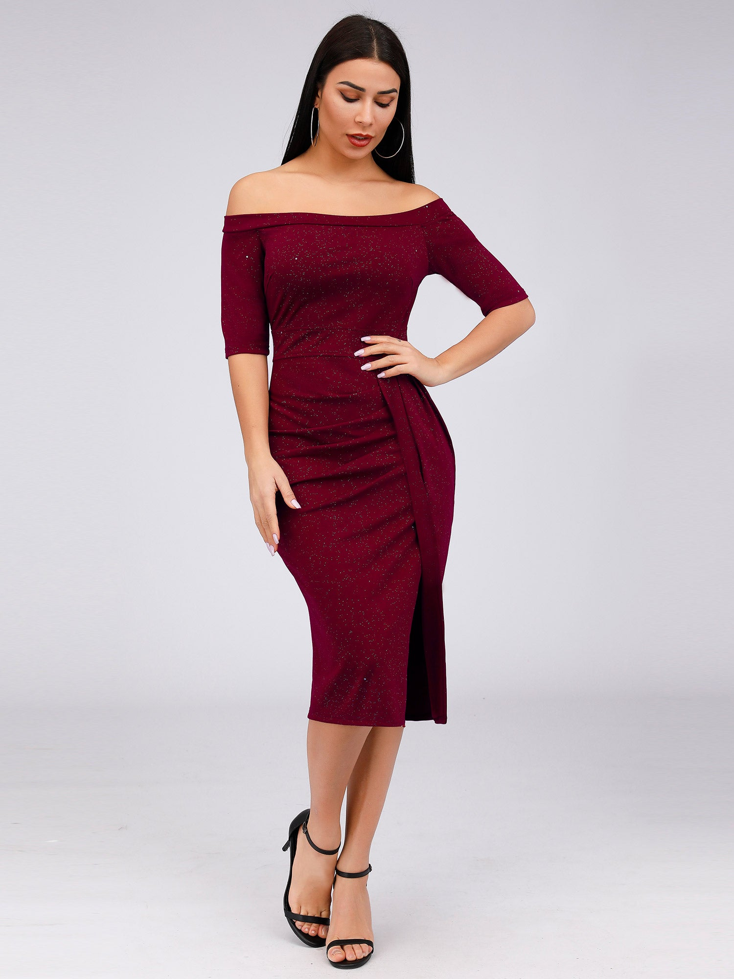 knee length cocktail dress