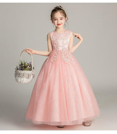 Cute O-Neck Flower Girl Dresses For Wedding
