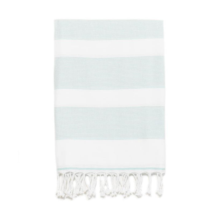 Buldan's Basic Turkish Bath Towel - Aqua
