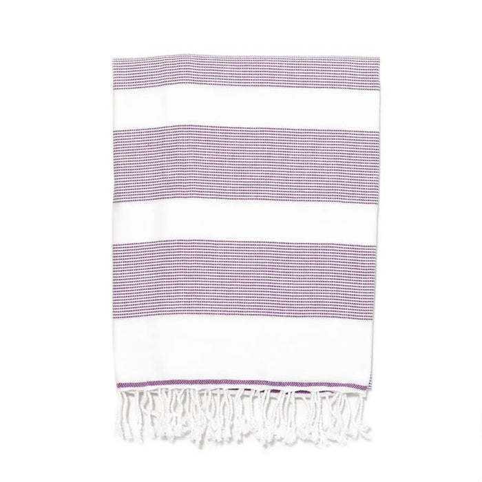 Buldan's Basic Turkish Bath Towel - Purple