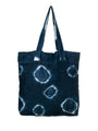 Hand Dyed Shibori Tote Bag - Space Dots