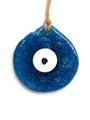 Hand Fired Glass Evil Eye - Large