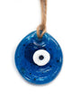Hand Fired Glass Evil Eye - Medium