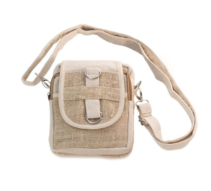 Hemp Passport Bag Plus from Nepal