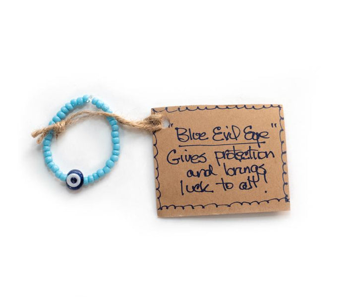Infant's Evil Eye Bead Bracelet