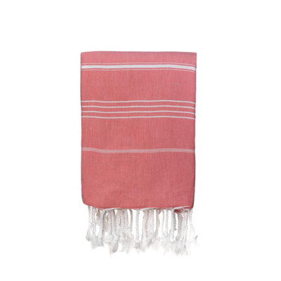 Jumbo Traditional Turkish Towel - Coral