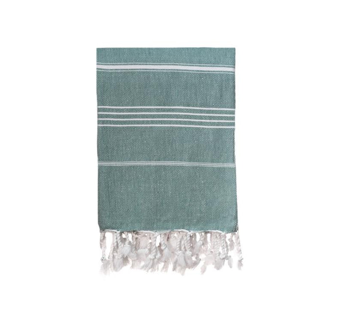 Jumbo Traditional Turkish Towel - Sage