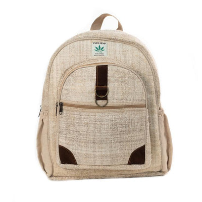 Large Hemp Backpack from Nepal