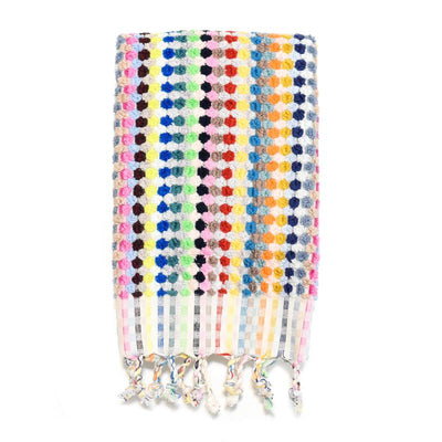 Pom Pom Turkish Hand Towel