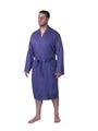 Premium Turkish Cotton Bathrobe - Deep Violet