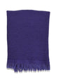 Puffy Waffle Weave Turkish Towel - Deep Violet