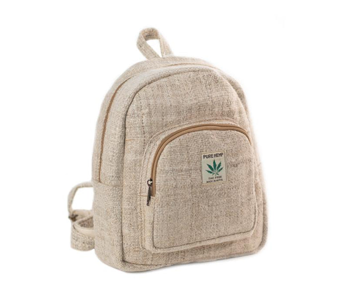 Small Hemp Backpack from Nepal