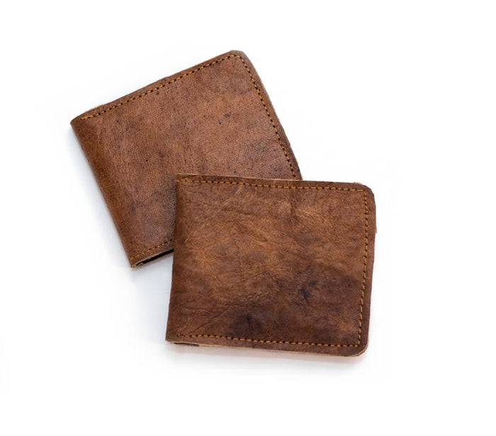 Small Water Buffalo Leather Wallet