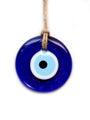 Traditional Blue Glass Evil Eye - Medium