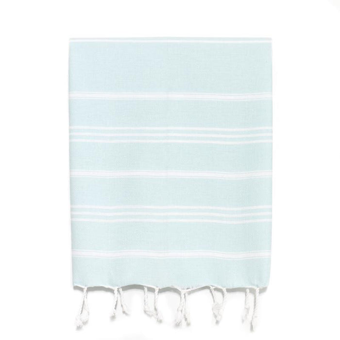 Traditional Turkish Hand Towel - Aqua