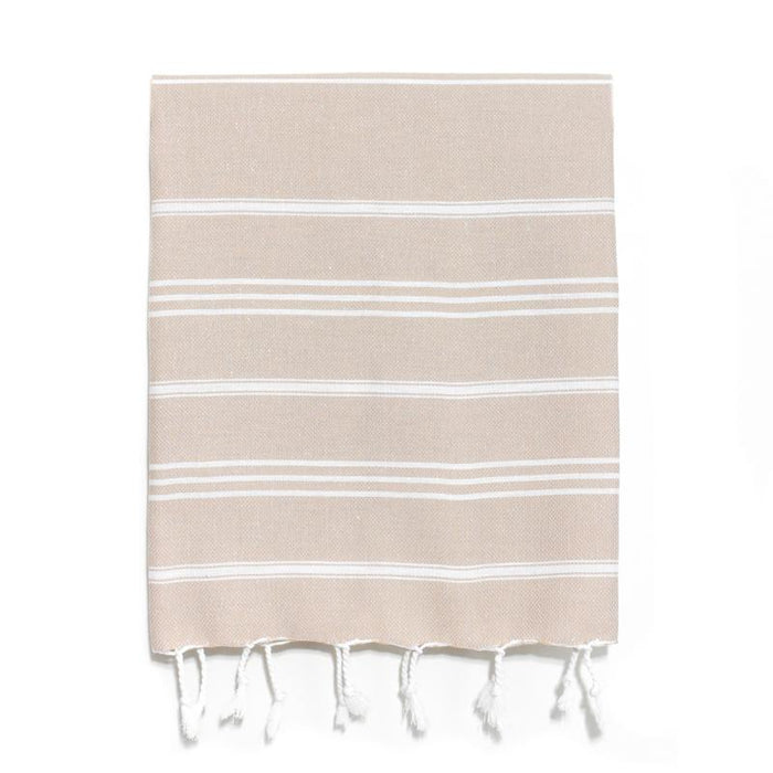 Traditional Turkish Hand Towel - Cappuccino