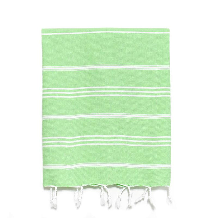 Traditional Turkish Hand Towel - Green Apple