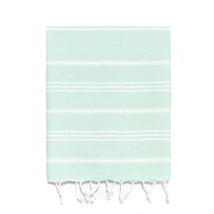 Traditional Turkish Hand Towel - Mint
