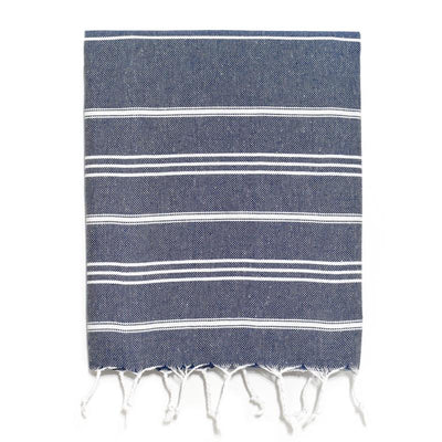 Traditional Turkish Hand Towel - Navy