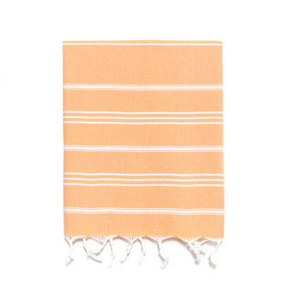 Traditional Turkish Hand Towel - Pumpkin