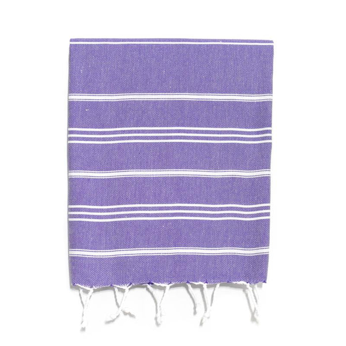 Traditional Turkish Hand Towel - Purple