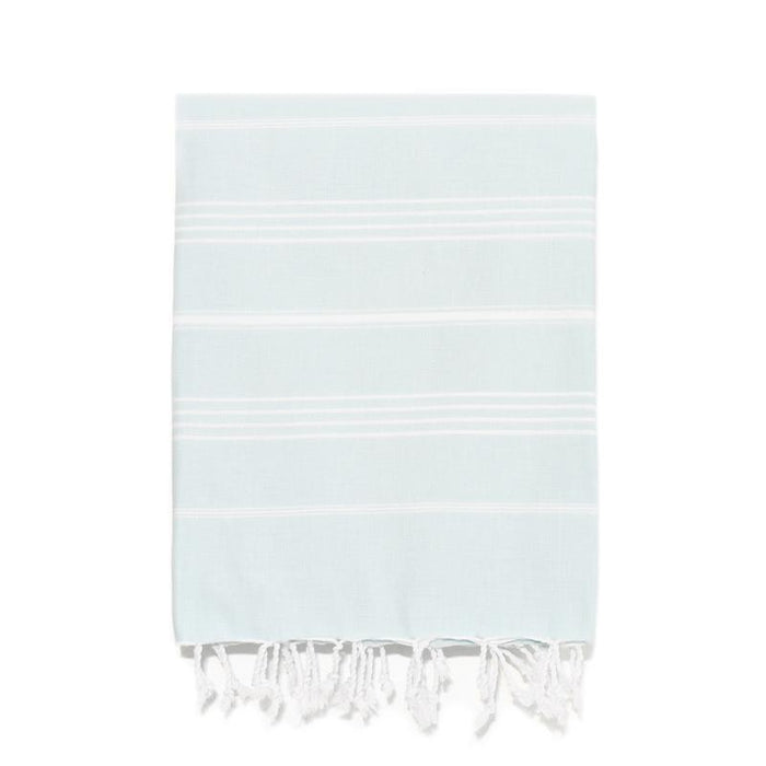 Traditional Turkish Bath Towel - Aqua