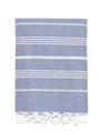 Traditional Turkish Bath Towel - Denim