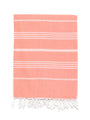 Traditional Turkish Bath Towel - Tangerine