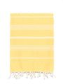 Traditional Turkish Bath Towel - Yellow