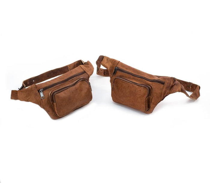 Water Buffalo Leather Fanny Pack