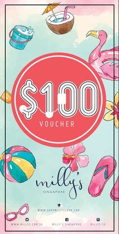 S$100 Milly's Outlet Gift Voucher