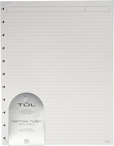 TUL Custom Note-Taking System Discbound Refill Pages