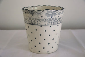 Dotted Herb Bucket