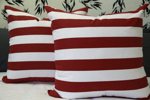 Horizontal Striped Scatter Cushions