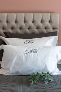 Script Collection Pillowcases