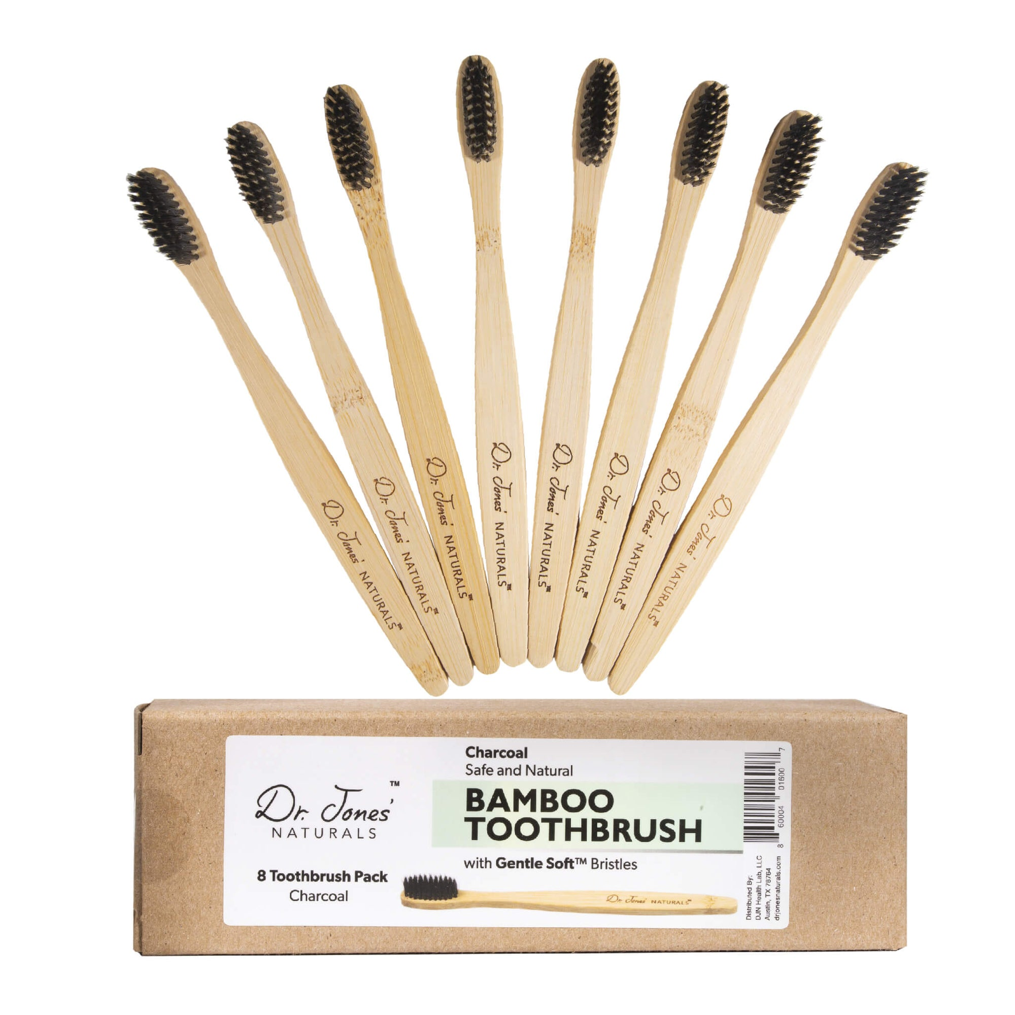 Bamboo Charcoal Toothbrush Pack