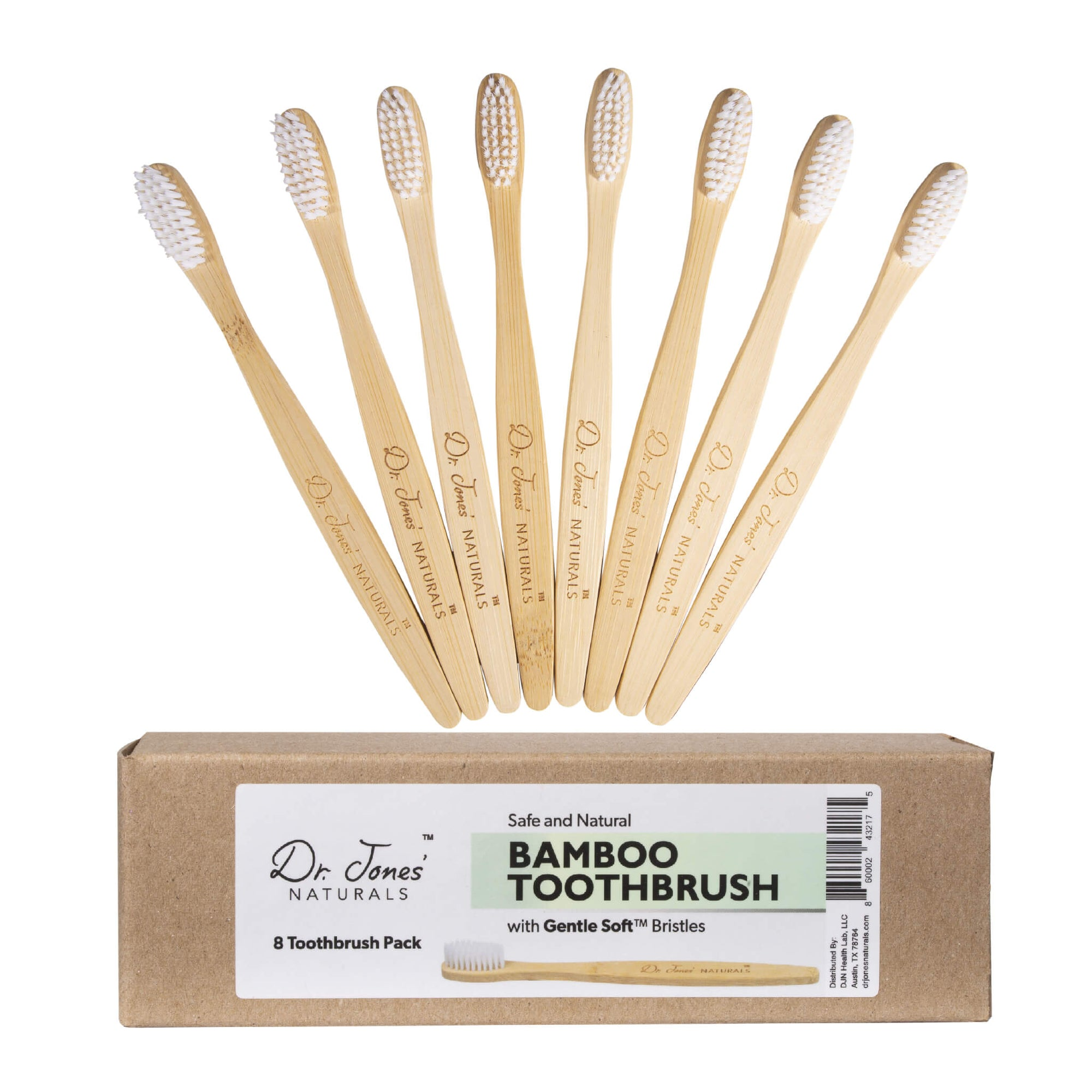 Bamboo Gentle-Soft Toothbrush Pack