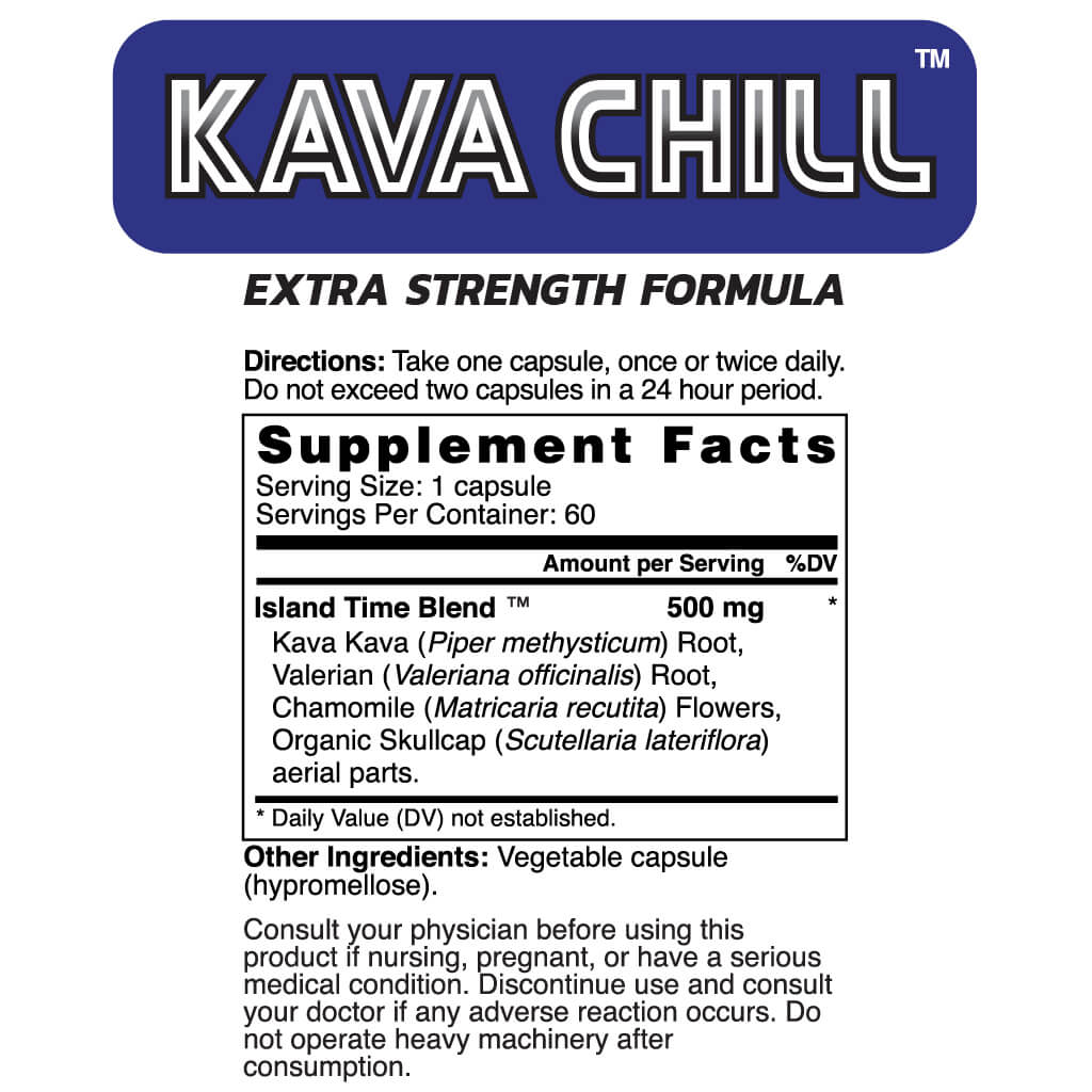 Extra Strength Kava Chill