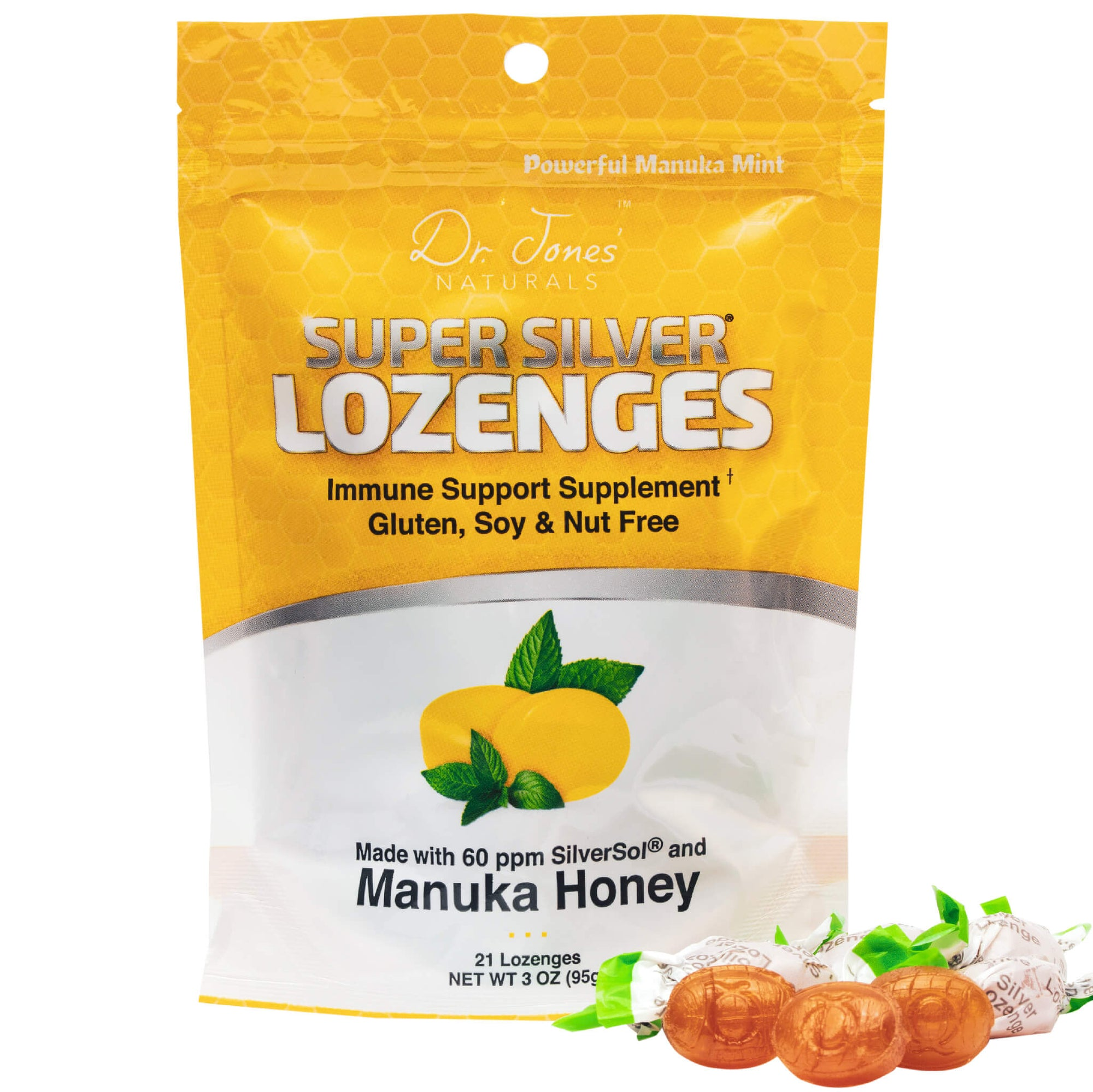 Super Silver Manuka Honey Lozenges