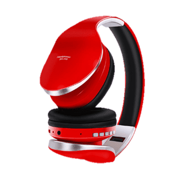 Casque Anti-Bruit Bluetooth 5.0 Rouge