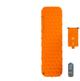 matelas gonflable orange
