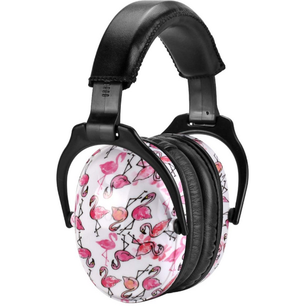 Casque Anti-Bruit Flamant Rose