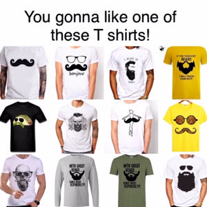 Nice Beard design T shirts for every beard lover. You gonna like them!