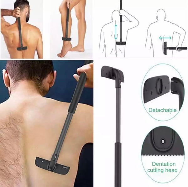 Adjustable Back Hair Shaver - hair-grow-kit