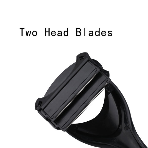 Foldable Back Hair Shaver