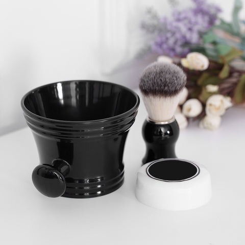 3 pieces Bowl, Soap And Brush Set - hair-grow-kit