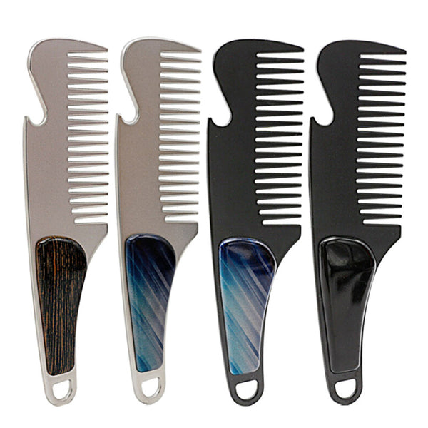Stainless Steel Beard Shaping Comb - hair-grow-kit