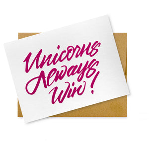 Unicorns Always Win