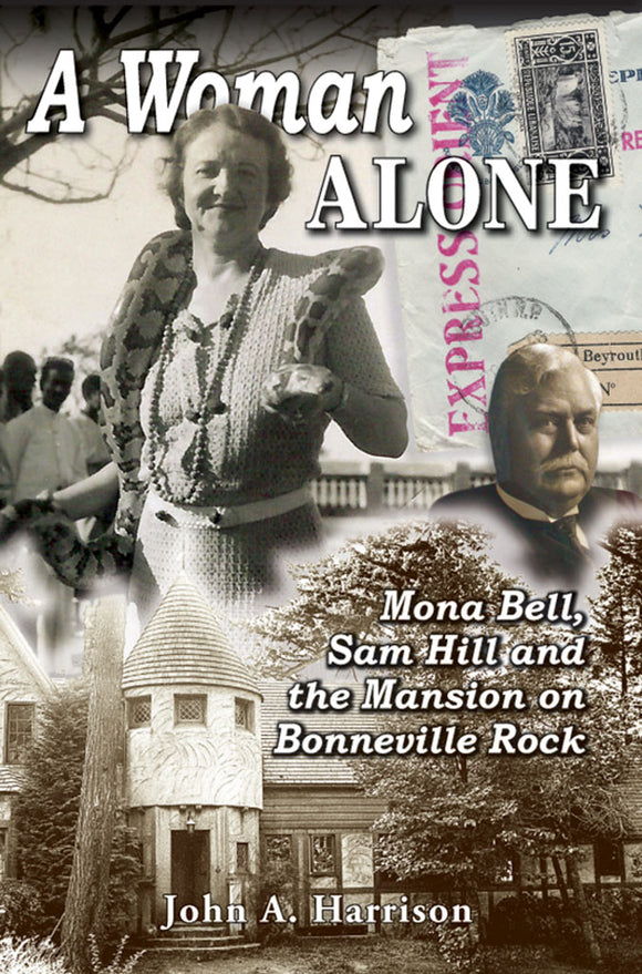 A WOMAN ALONE by John A. Harrison