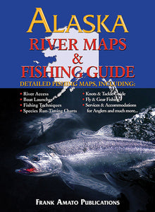 50% off-Gently used-ALASKA RIVER MAPS & FISHING GUIDE-
